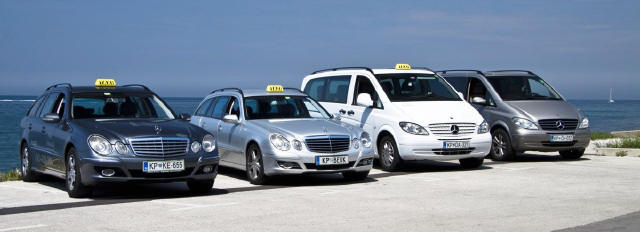 TAXI PIRAN - Car park few years ago